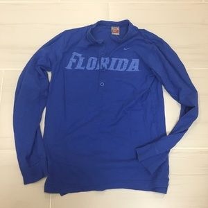 Nike University of Florida long sleeve Henley
